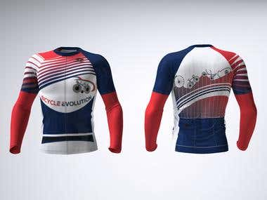 Design a cycling jersey