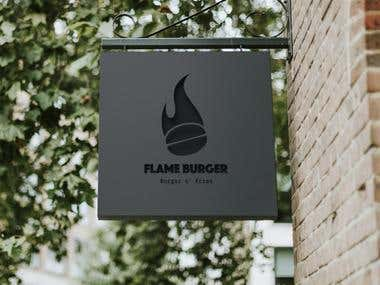 Logo Redesign for Flame Burger