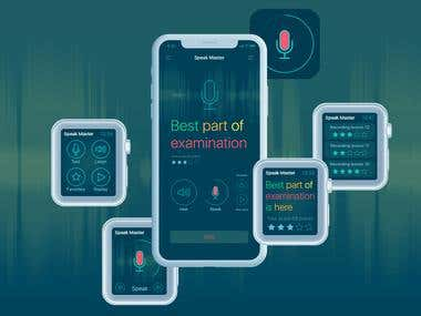 SpeakMaster App Design