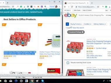 Amazon to Ebay
