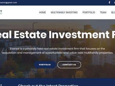 Realestate website Development