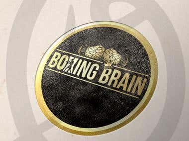 Boxing Brain Instagram page Logo