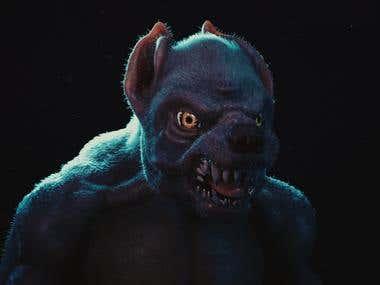 Werewolf Character Design