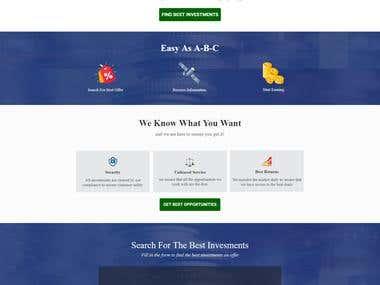 Codeignitor Web site