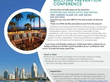 IBPA San Diego Confirmation Flyer