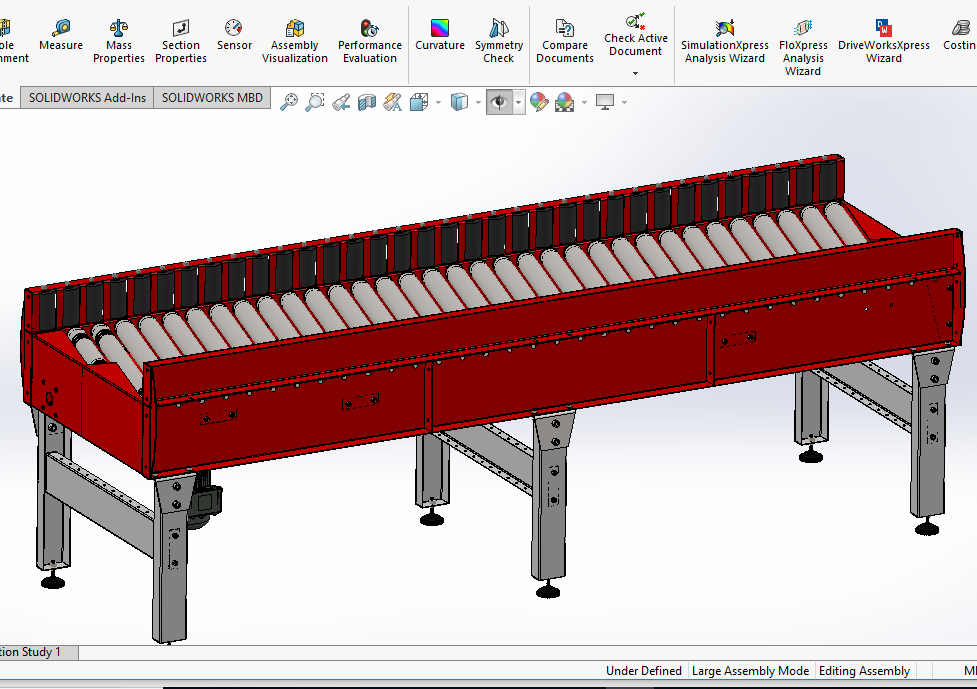 Skewed Roller Conveyor