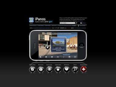 iPanos explore before you go! - website