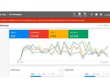 Google Ads Setup & Optimization
