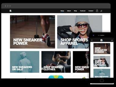 E-Commerce Website | Bridge