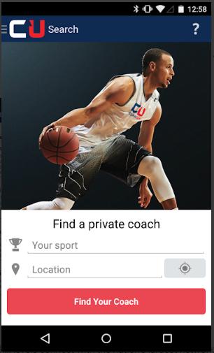 Coach Finder platform