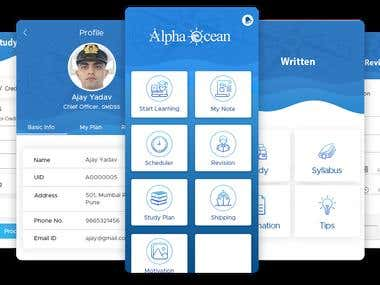 E-Learning Platform | Alpha Ocean