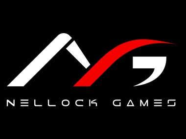 A logo design for Nellock Games