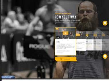 Online gym vidoe platform