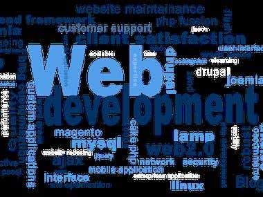 Website Development.