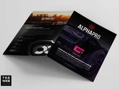 Bifold Ceramic PRo Alpha Pro Detail