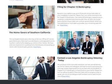 Design a Website Mockup