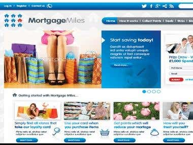 Website & CRM Development - Mortgage Miles