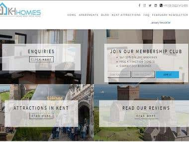 SEO & Website Development - KH Homes