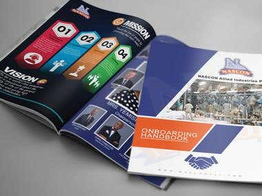 BOOK COVERS, MAGAZINE COVERS AND BROCHURES