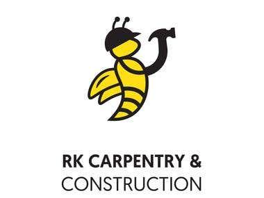 RK CARPENTRY & CONSTRUCTION - LOGO