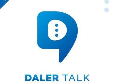 Daler Talk - Logo Design