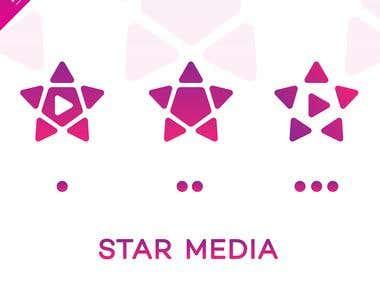 STAR MEDIA - LOGO DESIGN
