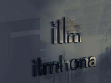 ilmhona - Logo Design
