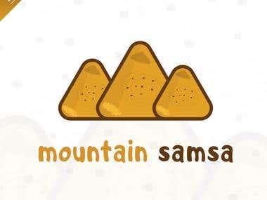 Logo for a Samsa