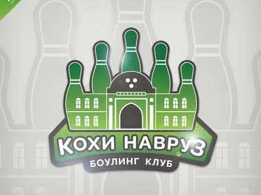 Logo for Bowling club