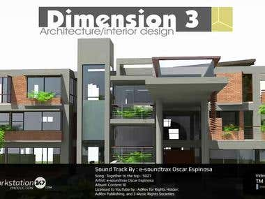 Dimension 3 - Architectural Firm Promotional Video