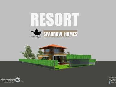 SparrowHomes - Resort Project Video Presentation