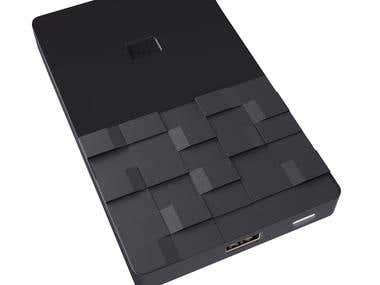 External Hard disk - Designed by Milivoja