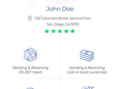 ZeroBank Money Transfer Mobile App