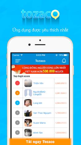 Tozaco Incentive Moibile App