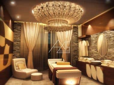 SPA | SALOON INTERIOR DESIGN
