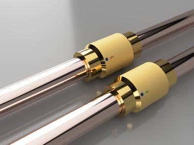 Rotary isolation valve
