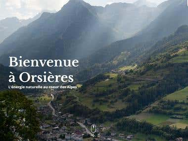 Orsieres Wordpress Responsive Site