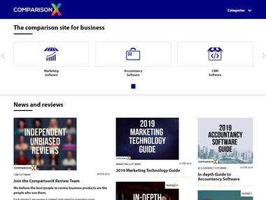 ComparisonX Wordpress Responsive Site