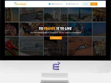Travel Website Development