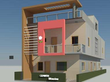 house elevation design & planning
