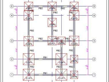 structure designing drawing