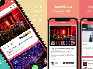Vennu - Find Local Events Now