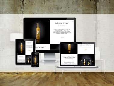 Kingside Vodka Onlineshop