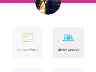 Social app for students