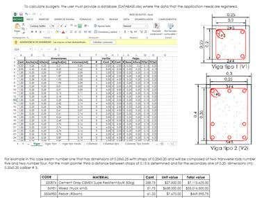 PRESUPUESTOR Civil and electromechanical budget estimator