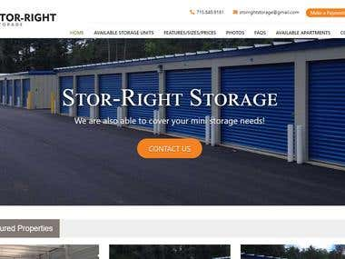 Custom appfilio Stor-Right Storage