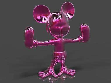 """Mickey Mouse"" for 3D printing"