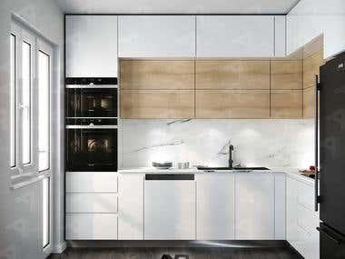 Kitchen Design by AYB Team.