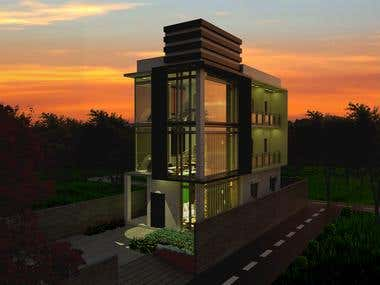 Residential Building (Render Images )