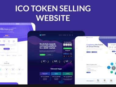 ICO Token website